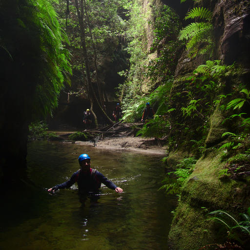 Blue Mountains Canyoning 2018