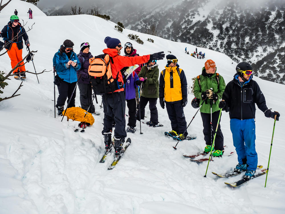 Running the Navigation Clinic (Photo: Guillaume Stanguennec)