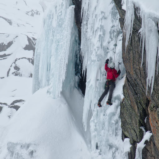 Blue Lake Ice Climbing