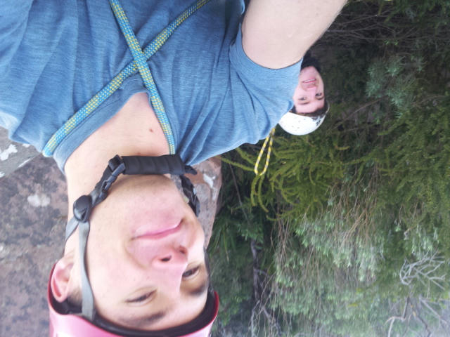 My first multipitch lead